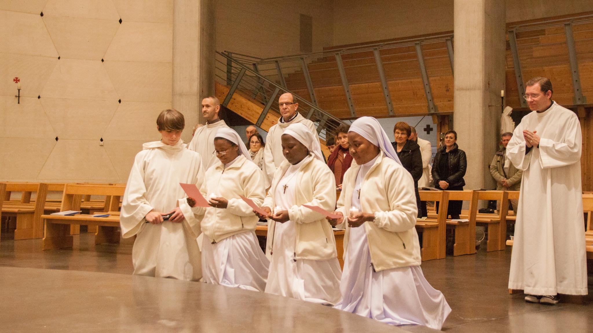 Renouvellement des Voeux des Soeurs de Saint Augustin du Bénin
