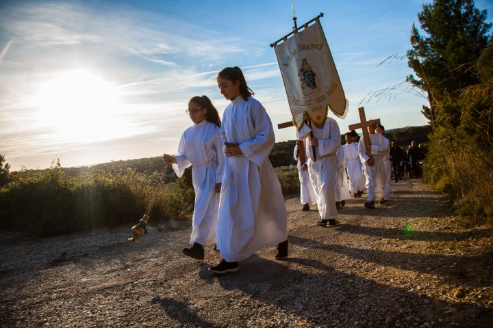 Inauguration du chemin de Croix